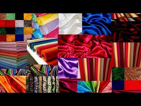 Как выбрать ткань для пошива изделия. Основные виды тканей
