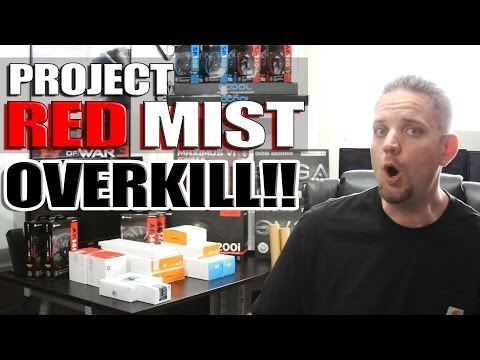 Project Red Mist Part 1 - The Parts
