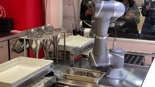 たこ焼き調理ロボ「ハッピー」