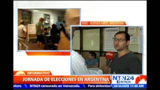 Avanzan elecciones primarias para renovar cargos en Buenos Aires, Argentina