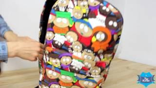 Обзор Рюкзака South Park молодежный купленый на AliExpress
