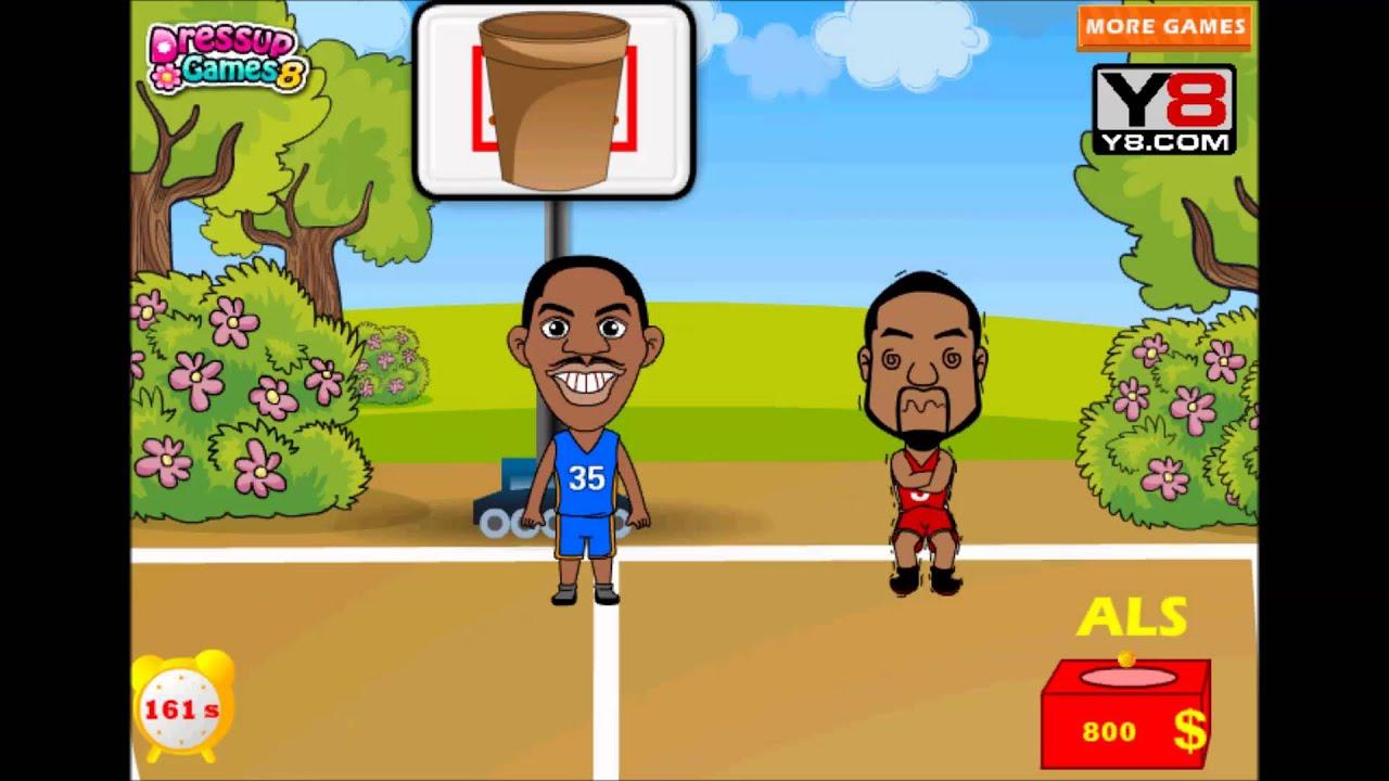 ALS Ice Bucket Challenge NBA Y8 games to play 2014