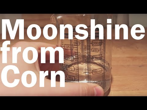 How to Make Moonshine Whiskey Part 1: Making a Corn Mash