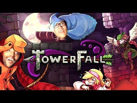 Towerfall: Risadas Mosca Assassina em uma Batalha Envolvente Feat Gusta - Omega Play