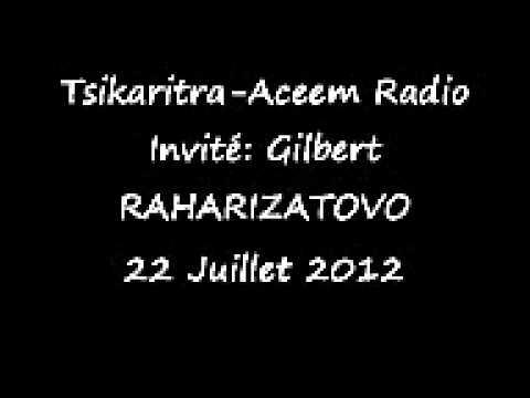 TSIKARITRA- GILBERT RAHARIZATOVO 22 JUILLET 2012