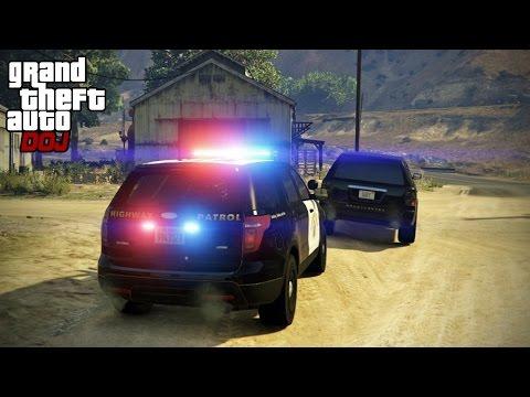 GTA 5 Roleplay - DOJ 149 - Multiple Pursuits (Law Enforcement)