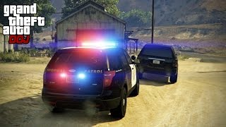 GTA 5 Roleplay - DOJ 149 - Multiple Pursuits (Law Enforcement)