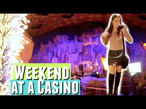 SPENDING MY WEEKEND AT A CASINO GAMBLING, did I win? Playing Craps at a Casino in Connecticut