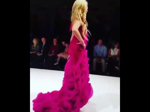 Eden wood In fashion show 2017 - YouTube