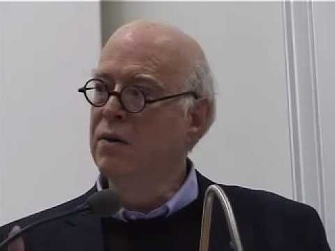 Lecture by Richard Sennett on 'Sociology as Literature'