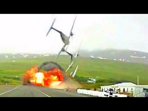 Airplane Crash in a RACETRACK