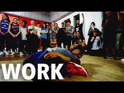 'WORK' - Rihanna Freestyle by FIK-SHUN | @Dance10Fikshun @MattSteffanina #WORK