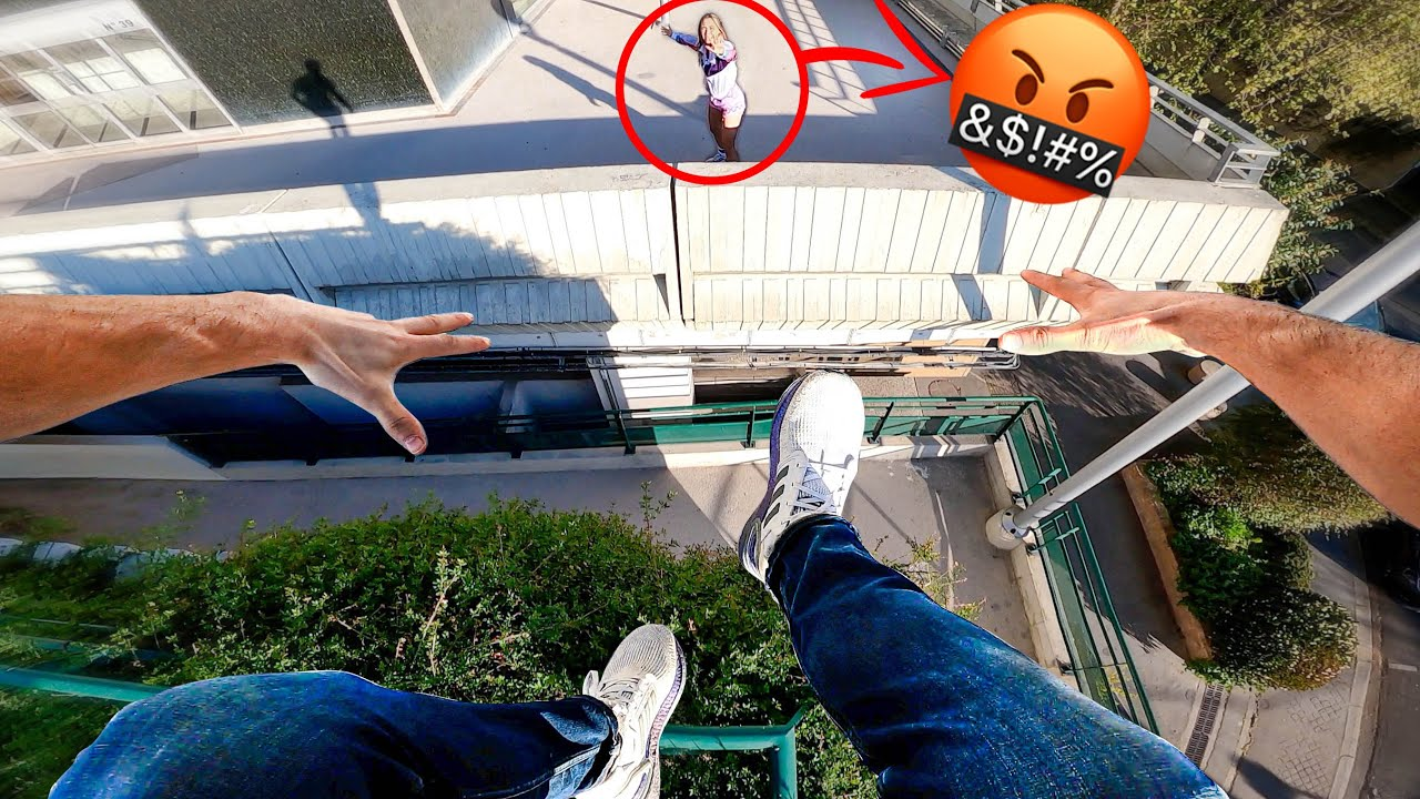 CHASING THE WORST GIRLFRIEND IN THE WORLD (Extreme Parkour Chase)
