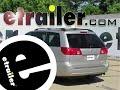 install trailer hitch 2009 toyota sienna c12065 - etrailer.com
