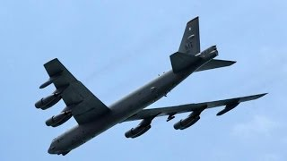 US: US B-52 bombers flying into Chian Air Zone is a planned flight exercise