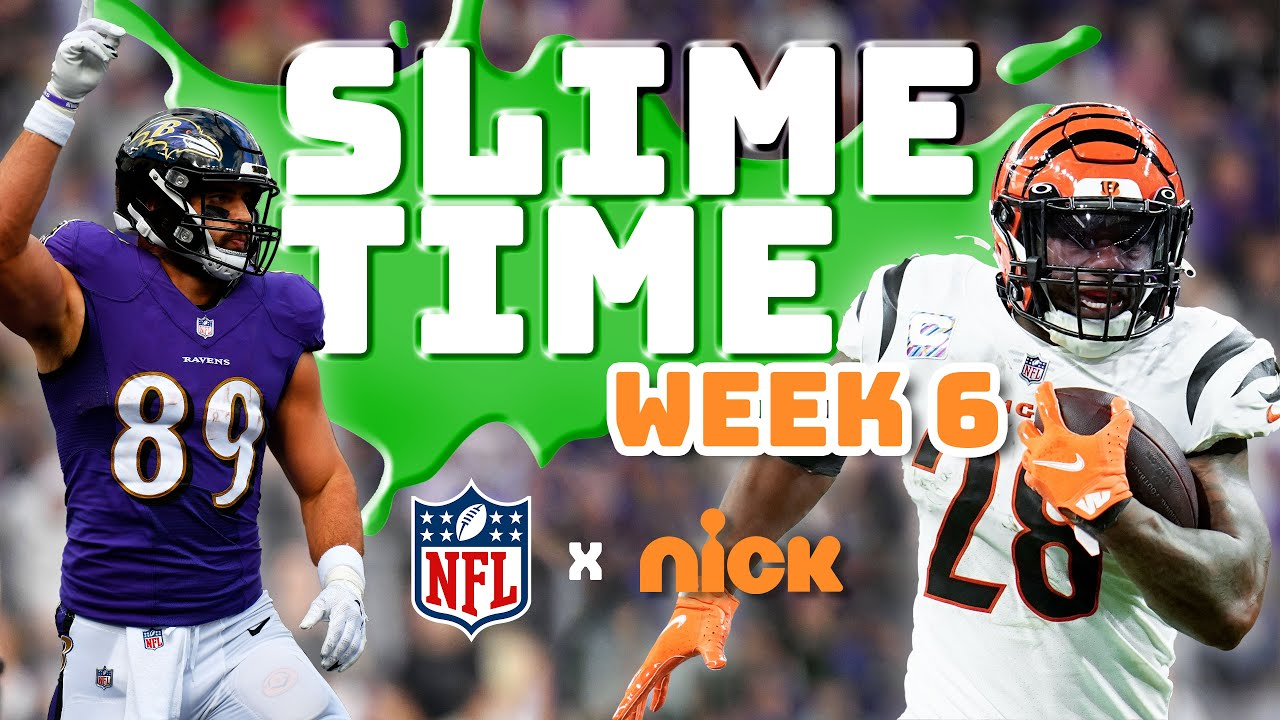 NFL SlimeTime: Week 6 Highlights, Reactions, and More!