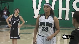Victor Valley vrs Hesperia   Girls