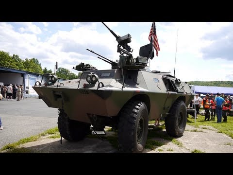 V 100 Commando Armored Vehicle Cadillac Gage Textron Systems