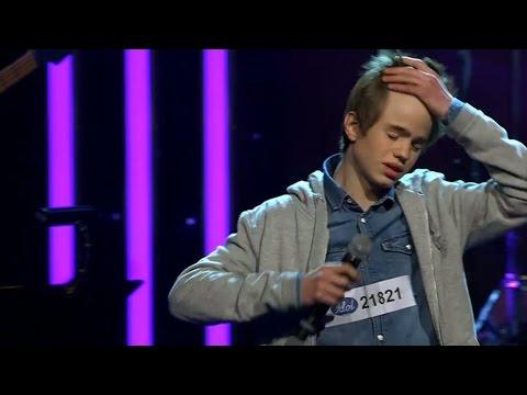 Kommer Fredrik Toremark kunna se förbi sina nerver i solosången av Idol 2014? - Idol Sverige (TV4)