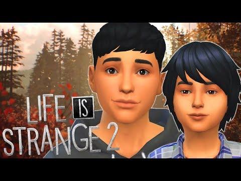 LIFE IS STRANGE 2 - The Sims 4   Create A Sim thumbnail