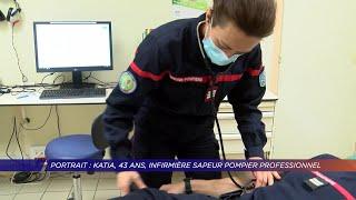 Yvelines | Portrait : Katia, 43 ans, infirmière sapeur pompier professionnel