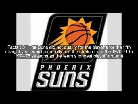 2014–15 Phoenix Suns season Top  #6 Facts