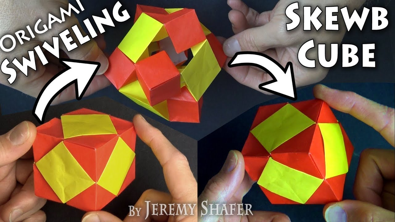 How To Make A Paper INFINITY CUBE! - YouTube | 720x1280