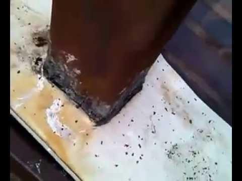 видео: как устранить течь