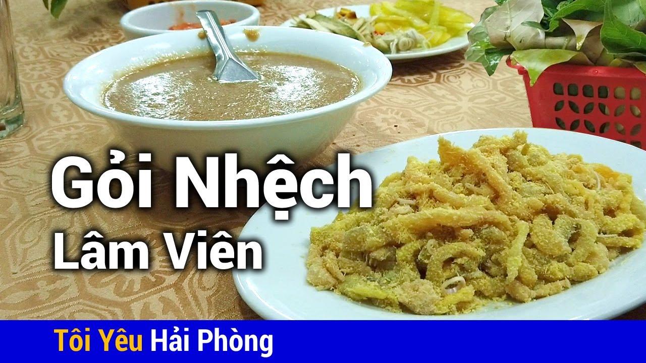 Gỏi cá nhệch Lâm Viên nổi tiếng ẩm thực Hải Phòng