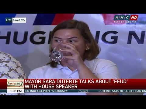 Sara Duterte as House Speaker? Davao Mayor says 'everything is up in the air'