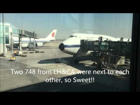 Lufthansa Economy Class-LH721-Beijing to Frankfurt with B747-8