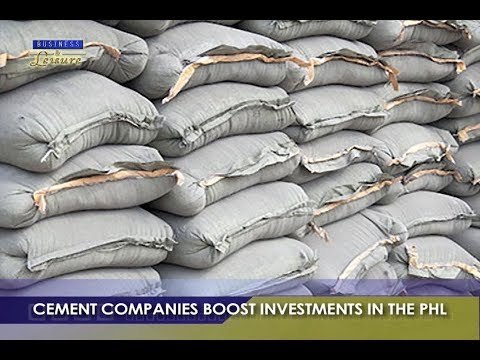 CEMENT COMPANIES BOOST INVESTMENTS IN THE PHL
