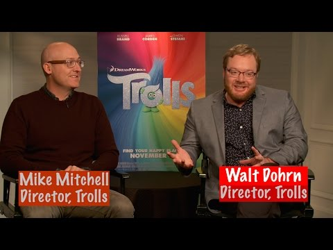 "Mike Mitchell & Walt Dohrn on ""TROLLS"" Mp3"