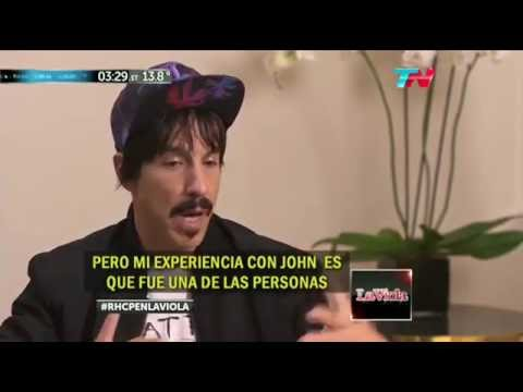 Anthony Kiedis about John Frusciante 2016 (interview)