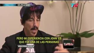anthony kiedis about john frusciante 2016 interview