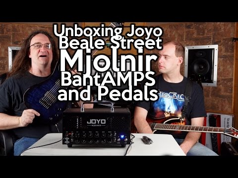Unboxing Joyo BEALE STREET, MJOLNIR, BantAMPS, and Pedals!