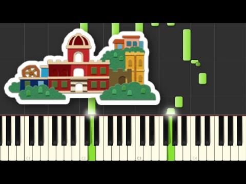Port Prisma Piano (Museum) - Paper Mario Color Splash Synthesia