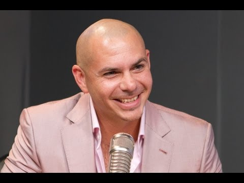 Pitbull In Studio PART 1 | Interview | On Air with Ryan Seacrest
