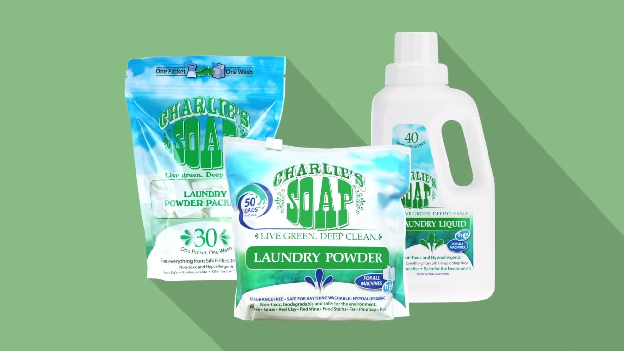 Hypoallergenic Deep Cleaning Details about  /Charlie's Soap Laundry Powder 50 Loads, 1 Pack