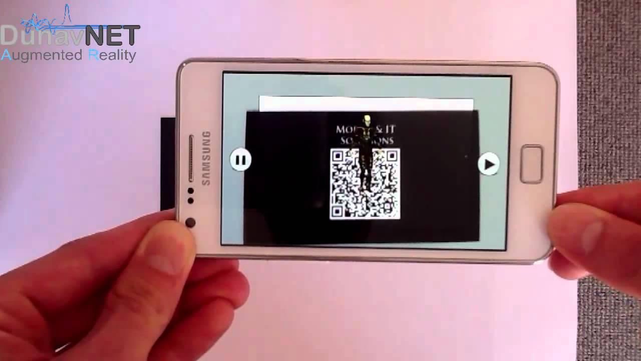 DunavNET - AR ( QR code & Animation) mp4