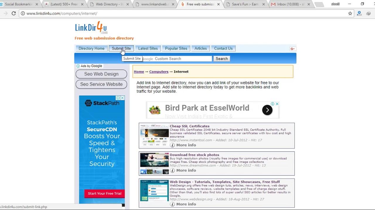 How to backlink on linkdir4u by savesfun youtube how to backlink on linkdir4u by savesfun xflitez Choice Image