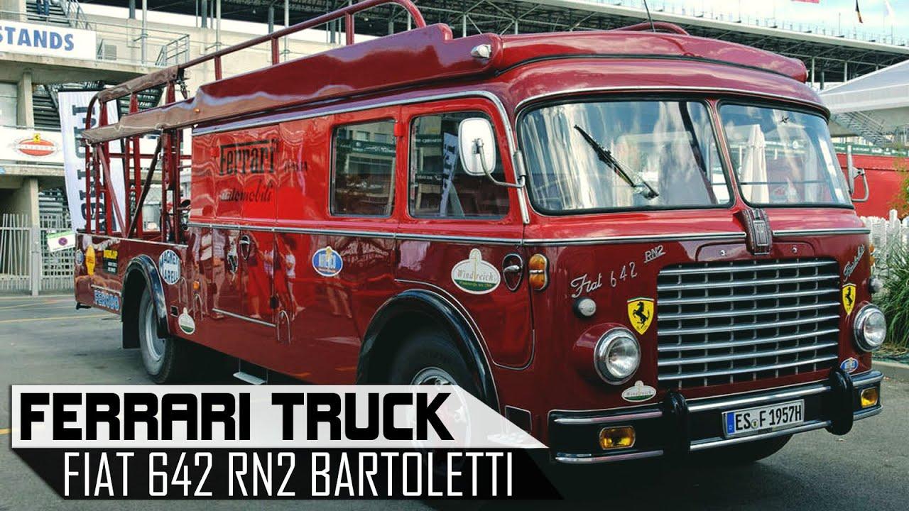 fiat 642 rn2 bartoletti ferrari transporter f1 truck scc tv youtube. Black Bedroom Furniture Sets. Home Design Ideas