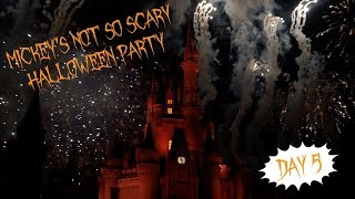 Disney Vlog!  Day 5: NOT SO SCARY 2017, FIRST TIME ON TOWER OF TERROR, AND HOLLYWOOD!