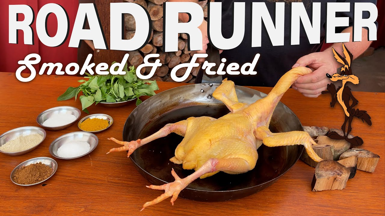 SMOKED FRIED ROAD RUNNER   Recipe   BBQ Pit Boys