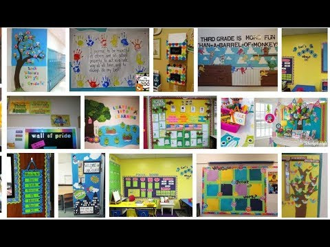 Classroom decoration ideas for grade 3 - YouTube