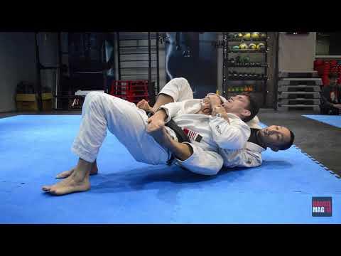 Demian Maia e seu treino específico de kimono na Coreia do Sul