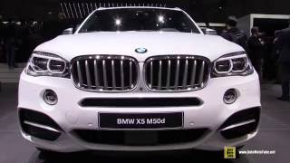2016 BMW X5 M50d - Exterior and Interior Walkaround - 2016 Geneva Motor Show