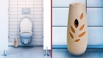 If You See This Vase in the Toilet, Run Out Immediately!