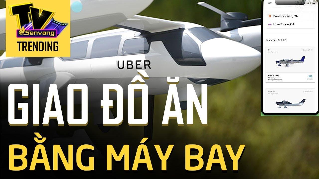 Uber ra mắt máy bay không người lái vận chuyển đồ ăn