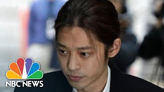 K-Pop Star Suspected Of Making Illicit Sex Tapes Apologizes For 'Unforgivable Crime' | NBC News